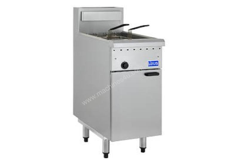 Luus Essentials Series Single Pan Twin Basket Deep Fryer FG-40