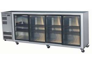 Skope BB780 4SL BackBar Series Four Sliding Doors Bench Fridge - 2620mm