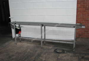 Motorised Variable Speed Belt Conveyor - 2.9m long