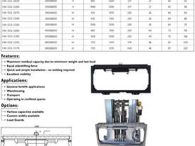 Hydraulic Forklift Attachments Sideshifts Class 3 - 1200mm Frame Width - picture2' - Click to enlarge