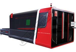 1530 Bystronic DNE Fiber Laser Cutting System 3100 x 1500mm Table, Includes Automatic Sheet Exchange