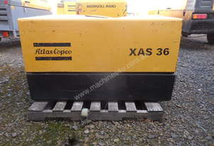 Atlas Copco XAS36YD 75cfm Air Compressor