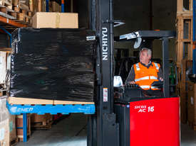 New Electric Sit-on Reach Truck For Sale - picture2' - Click to enlarge