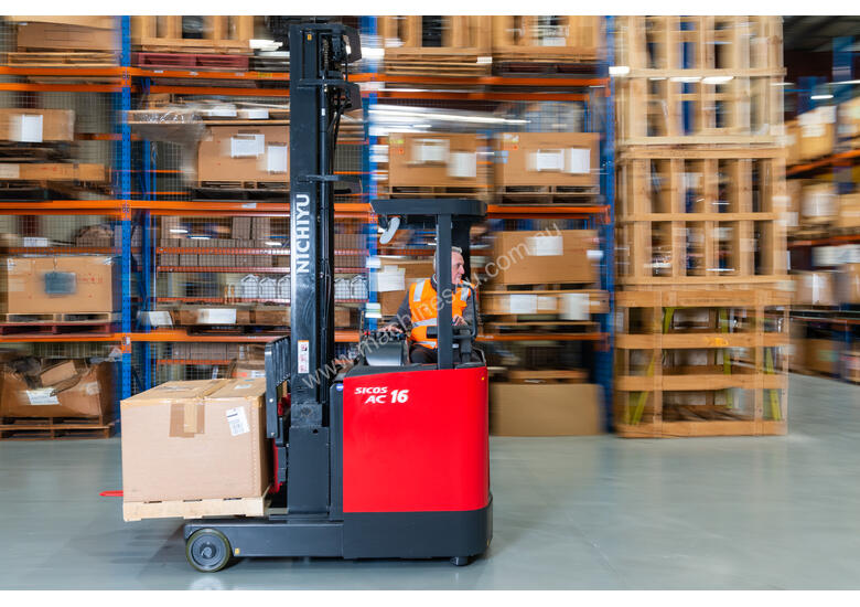 New Electric Sit-on Reach Truck For Sale