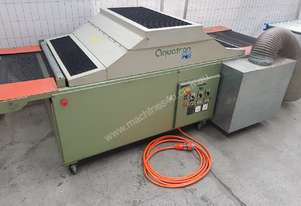 AQUATRON FLOW-THROUGH SCREEN PRINTING UV DRYER, 750mm Conveyor Feed, Variable Speed, 2 Lamps $1,100