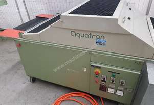 AQUATRON FLOW-THROUGH SCREEN PRINTING UV DRYER, 750mm Conveyor Feed, Variable Speed, 2 Lamps $1,500