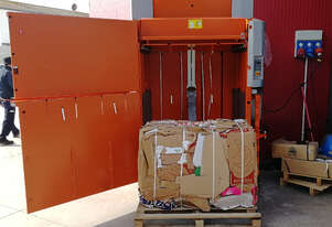 ORWAK Power 3325 | Baler and Compactor | Cardboard, Paper, Plastic