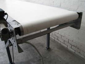 Large Motorised Belt Conveyor - 3.7m long - picture6' - Click to enlarge