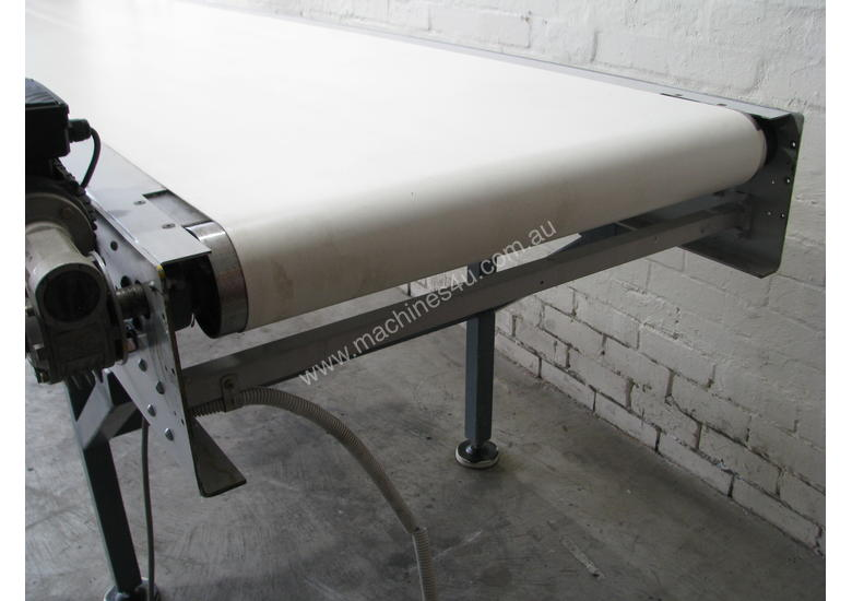 Large Motorised Belt Conveyor - 3.7m long
