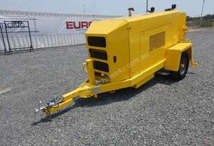 2009 Putzmeister TK 15HP Single Axle Trailer Mounted Concrete Pump
