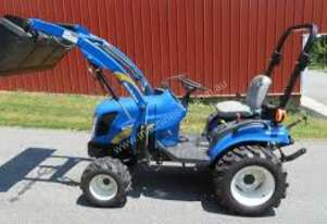 New Holland 30HP 4WD Tractor with 4-in-1 Bucket