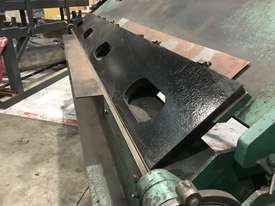 Aust Made 2500mm x 3mm Hydraulic Panbrake For Sale - 2 Sets Top Blades Included - picture5' - Click to enlarge