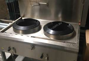 Stainless Steel Commercial Waterless Wok 1200mm - Luus WL-2C