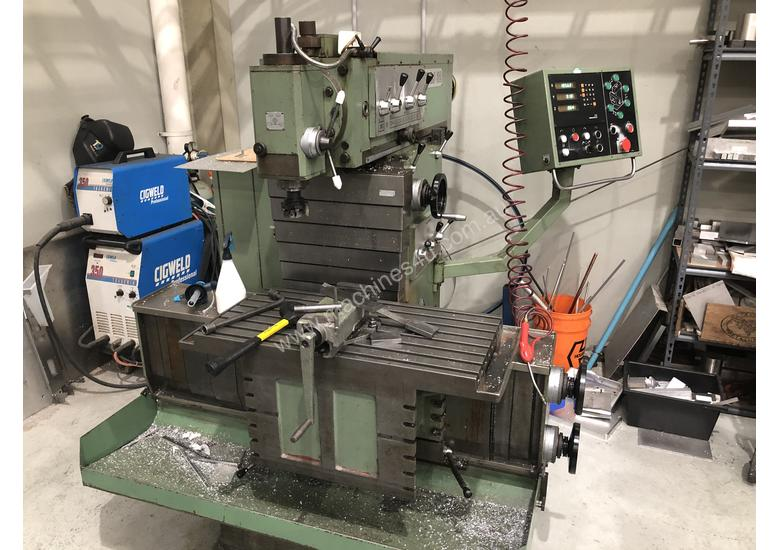 Milling Machine For Sale >> Tos Milling Machine