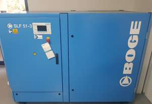 Boge SLF51-3 Rotary Screw Air Compressor Variable Speed Direct Drive