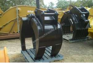 30 Ton Labounty 5 Finger Manual Grapple