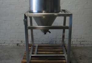 Stainless Steel Jacketed Mixer Mixing Cone Tank - 100L