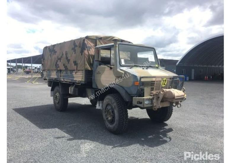 Used mercedes benz 1983 Mercedes Benz UL1700L Unimog Tray Truck in , - Listed on Machines4u