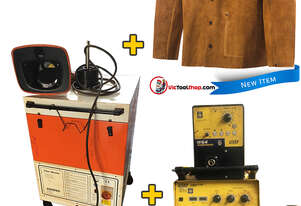 WIA MIG Weldmatic CP135 Welder, Kemper Exhaust Fan and Welding Jacket