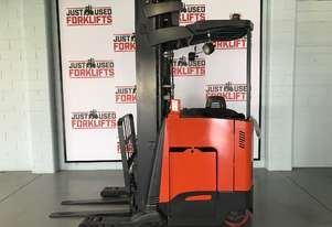 RAYMOND STAND ON  FORKLIFTS 740-R45TT S/N 11/FB25702 LOCATED COOPERS PLAINS BRISBANE