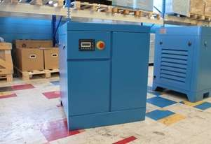 ROTARY SCREW AIR COMPRESSOR 7.5KW 10HP 13BARS 42CFM BELT DRIVEN