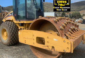 2003 Cat CS-563E Compaction Roller, Padfoot shells, E.M.U.S. MS654