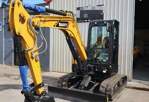 5t Excavator from $44 p/day IN STOCK SY50U Yanmar engine.  South Australian Dealer