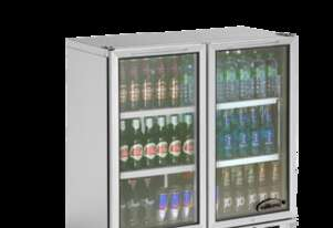 Williams BC2SS Bottle Cooler Glass 2 Door Refrigerator