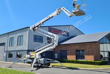 Omme - 27.5m Knuckle Boom Spider Lift