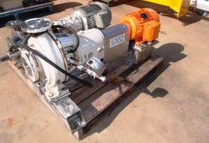 Centrifugal Pump (Stainless Steel), IN: 65mm Dia, OUT: 40mm Dia, 2.5Lt/sec
