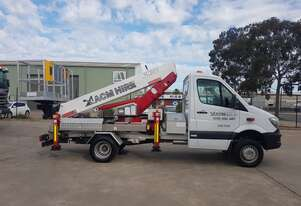 ACM200 - 20m truck mounted EWP on Mercedes-Benz Sprinter - drive on car licence!
