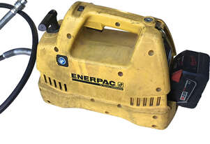Enerpac 28 Volt Cordless Hydraulic Pump Porta Power Battery & Charger 10000 PSI XC1202M - Used