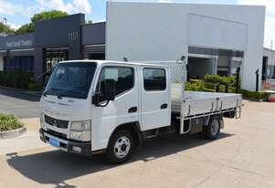2012 MITSUBISHI FUSO CANTER 7/800 - Tray Truck - Dual Cab - Tray Top Drop Sides