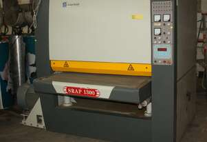 SRAP1300 Wide Belt 3-Head Triple Drum Conveyor Feeding Sander 37kw,30kw,15kw