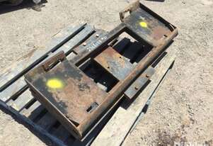 Unbranded Head Board Attachment To Suit Skid Steer