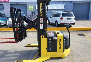 hyster w30zr walkie reach. container entry