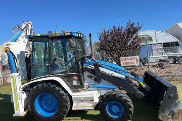 Backhoe CAT 428D Premier 3960 hours 4 in 1 bucket 2005 4x4