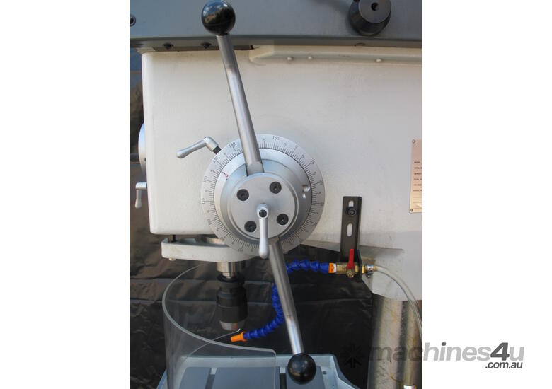 � 50mm Capacity Gear Driven Pedestal Drill