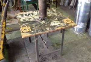 Old ware, industrial antique, coffee table
