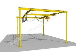 Light Capacity Track Gantry Cranes.