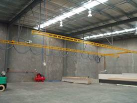 Light Capacity Track Gantry Cranes. - picture2' - Click to enlarge