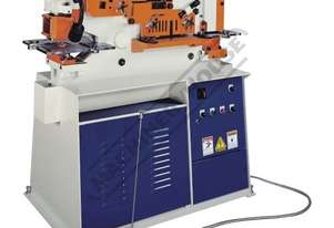 IW-60H Hydraulic Punch & Shear 60 Tonne Includes 6 Sets of Round Punches & Dies