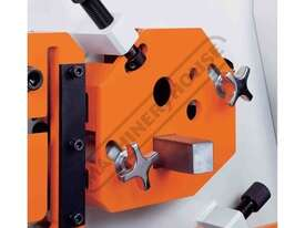 IW-60H Hydraulic Punch & Shear 60 Tonne Includes 6 Sets of Round Punches & Dies - picture4' - Click to enlarge