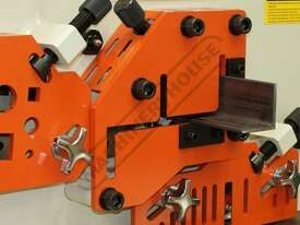 IW-60H Hydraulic Punch & Shear 60 Tonne Includes 6 Sets of Round Punches & Dies - picture6' - Click to enlarge