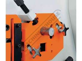 IW-60H Hydraulic Punch & Shear 60 Tonne Includes 6 Sets of Round Punches & Dies - picture5' - Click to enlarge