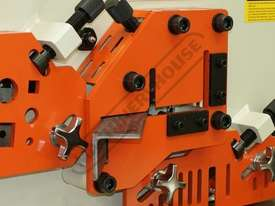 IW-60H Hydraulic Punch & Shear 60 Tonne Includes 6 Sets of Round Punches & Dies - picture7' - Click to enlarge