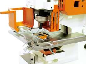 IW-60H Hydraulic Punch & Shear 60 Tonne Includes 6 Sets of Round Punches & Dies - picture2' - Click to enlarge