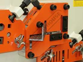 IW-60H Hydraulic Punch & Shear 60 Tonne Includes 6 Sets of Round Punches & Dies - picture8' - Click to enlarge
