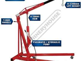 HPC-1T Pneumatic & Hydraulic Engine Crane 1 Tonne Lifting Capacity - picture0' - Click to enlarge