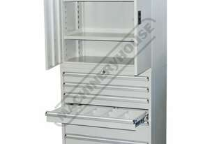 STC-COMBI Industrial Storage & Tooling Cabinet Package Deal 900 x 450 x 1800mm 150kg Shelf Load  & 7